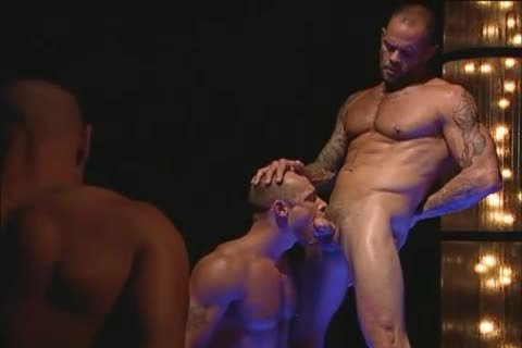 enormous Muscle Hunks Have blowjob-stimulation & Rimmjob