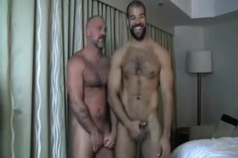 homosexual Bears a-hole licking & plowing