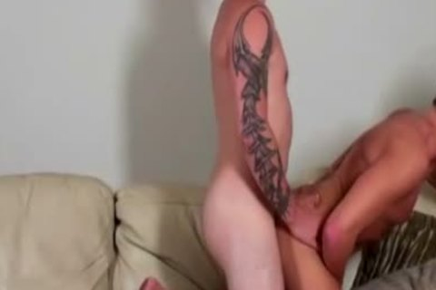 Tattood twinks groupfucking On bed And sperming