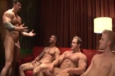 Tattooed Body Builders Have flawless banging Lesson