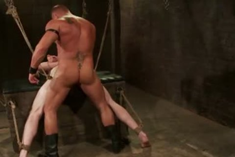 First-Timer Ben craves Being Teased And bound By Leather dominant