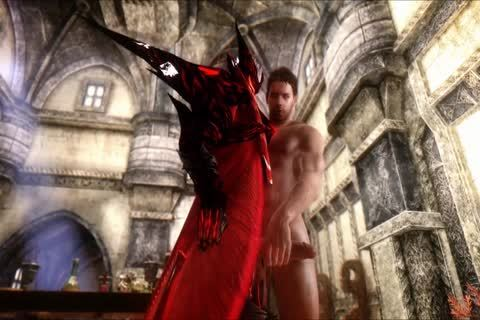 Dante particular. With Demon, Virgil, James Vega And Chris Redfield