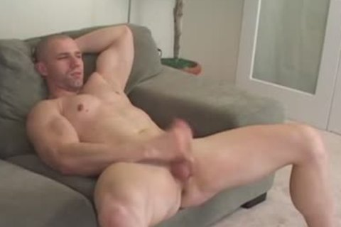 Muscle twink Solo stroking