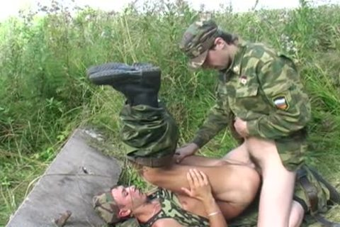 A homosexual Soldier Is nailed By His Boss