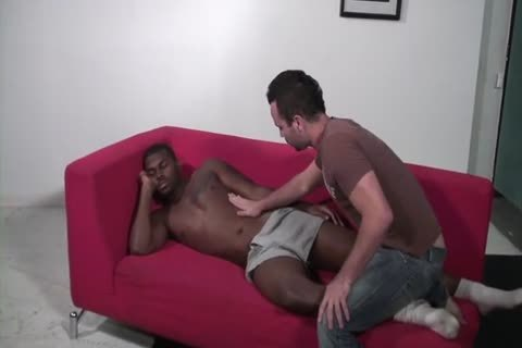 black guy nails His White Roommate raw