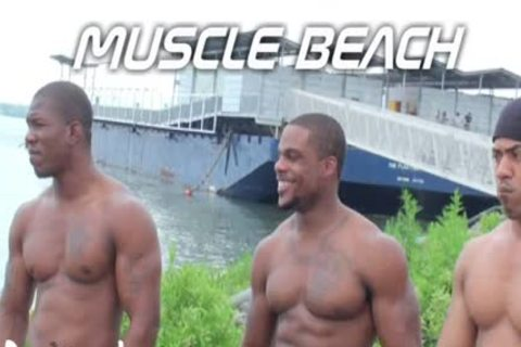 Muscles At The Beach