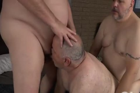 drilling His Blistering overweight Bumhole