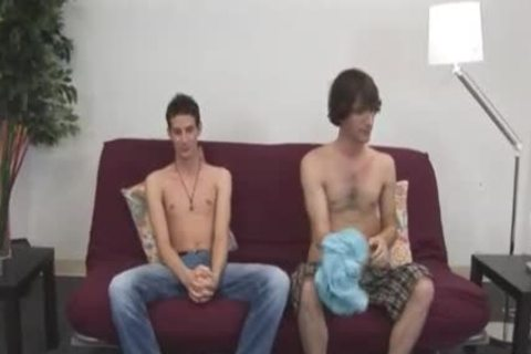 Straight homosexual blowjob And Red Hair Straight twinks banging Each
