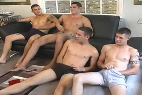 What A Load Of Wankers All Having A group Jerk Session