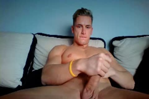 German stylish chap With large Hard penis On cam