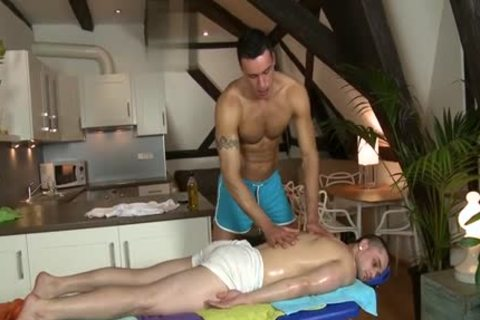 big dick Daddy oral-job With Massage