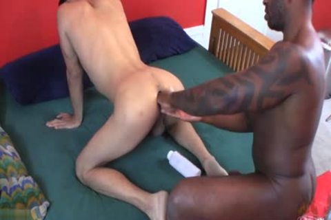 gorgeous homosexuals Fetish With cumshot