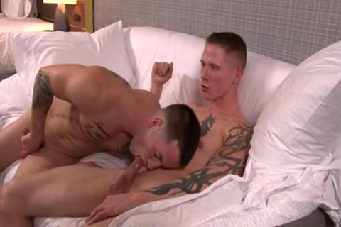 Muscle Military anal sex With spunk flow