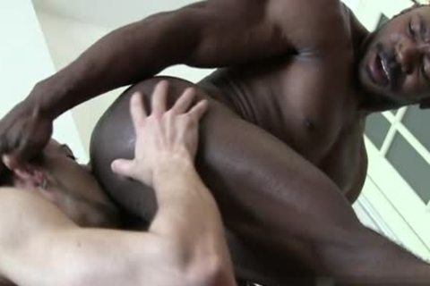 gigantic 10-Pounder homo anal sex With Creampie