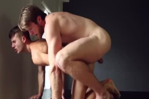 Muscle homosexual ass nail With cumshot