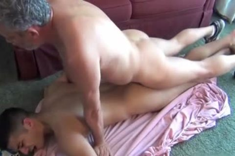large 10-Pounder twinks anal-copulation With ejaculation