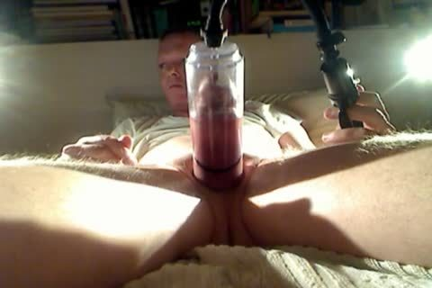 Pumping My rod And Balls At Night two