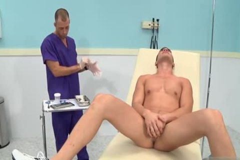 gigantic rod Doctor trio With ejaculation
