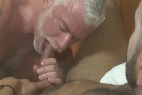 handsome Silver Daddy Jake Marshall And young man Rikk nail On Vacation