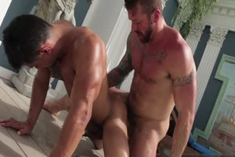 Tattoo homo butthole sex With spunk flow