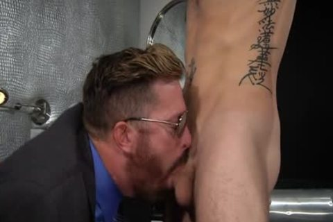 charming penis Fetish And Facial