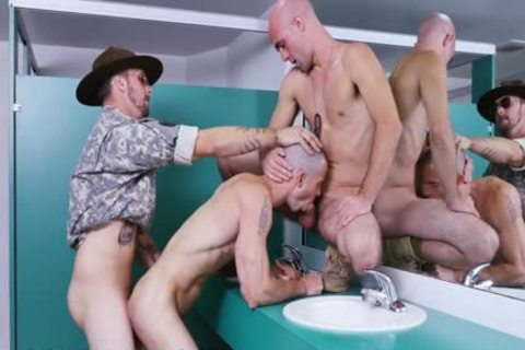 homosexual Drill Sergeant Gives nice butthole Training (tpc15426)