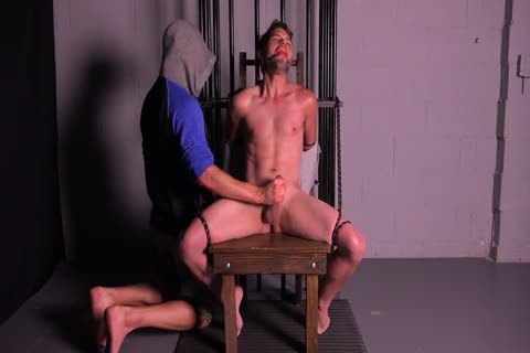 Straight Muscle chap Tortured & Edged