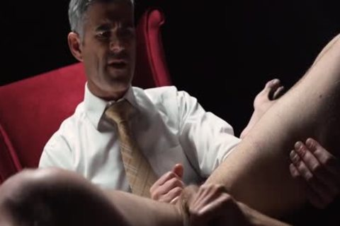 Mormonboyz - Silver Daddy Disciplines excited Son Over His Knee