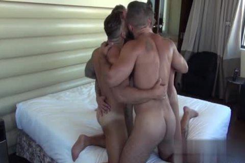 Muscle Bear blow job With ejaculation
