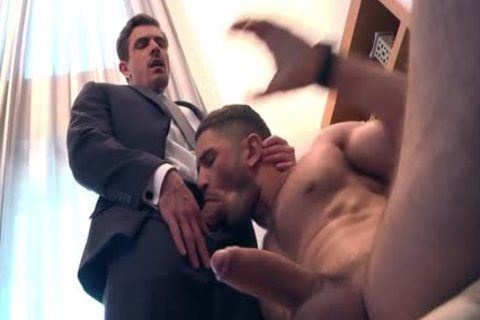 Muscle gay pooper sex With Facial