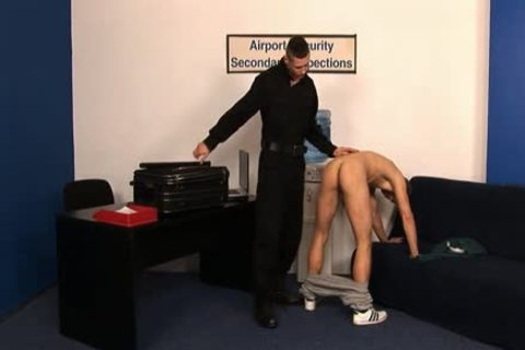 Ivan And Peter bare - AIRPORT SECURITY