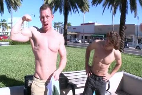 naughty homo Outdoor With butthole cumshot