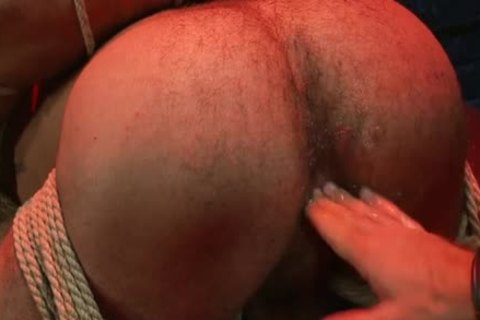 kinky homosexual tied And butt cumshot