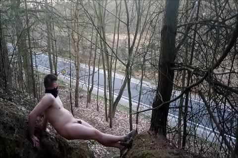 My naked Walk outdoors Part 3 Of 3. Comments Pleasethanx