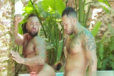 Latin gay anal stab With Facial