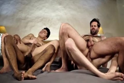 fine homosexual DP And cumshot