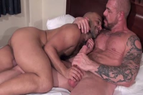 Rocco Steele Has A unprotected wazoo nailing