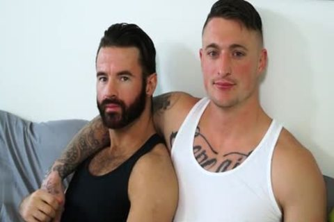Muscle homosexual oral pleasure sex And cream flow