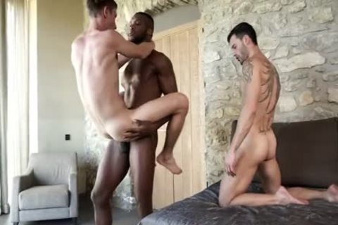 lusty Brutha Has enough cock two Share With Two