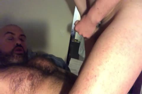Musclebear Sucks And receives Rimmed