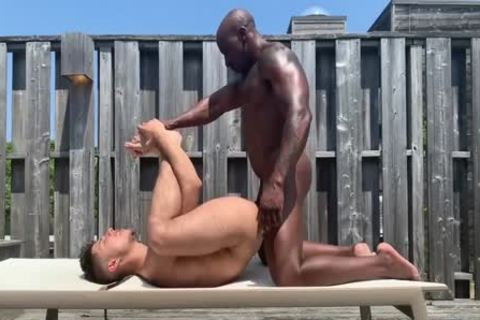 darksome daddy bonks His boy Around The Pool