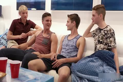 LucaVisconti - BEACH BUMS 10: GRAND FINALE (twinks orgy With Mozart)