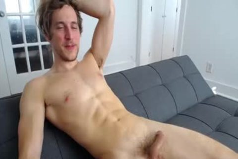 Masturbating With A vibrator In The ass