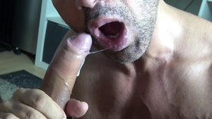 FrankfurtSexStories - Hairy gay helps with facefuck